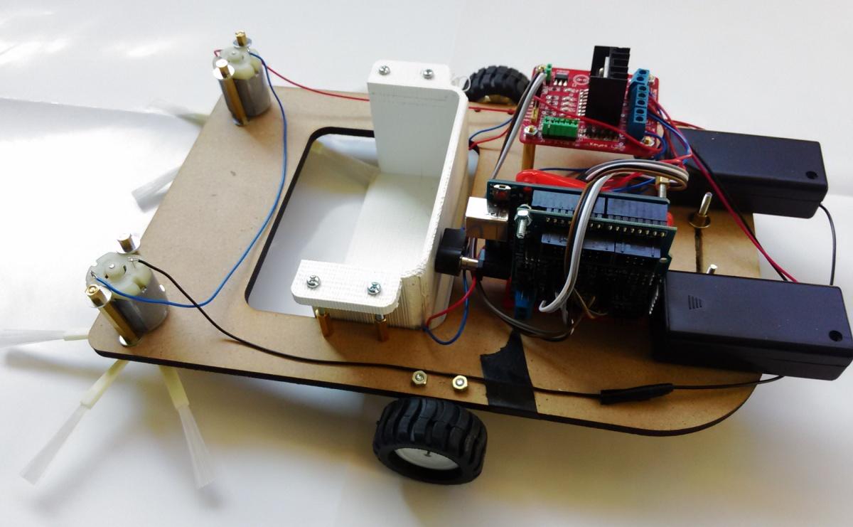 [Arduino]來台掃地機器人