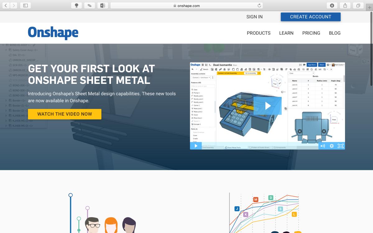 Onshape-3D繪圖軟體