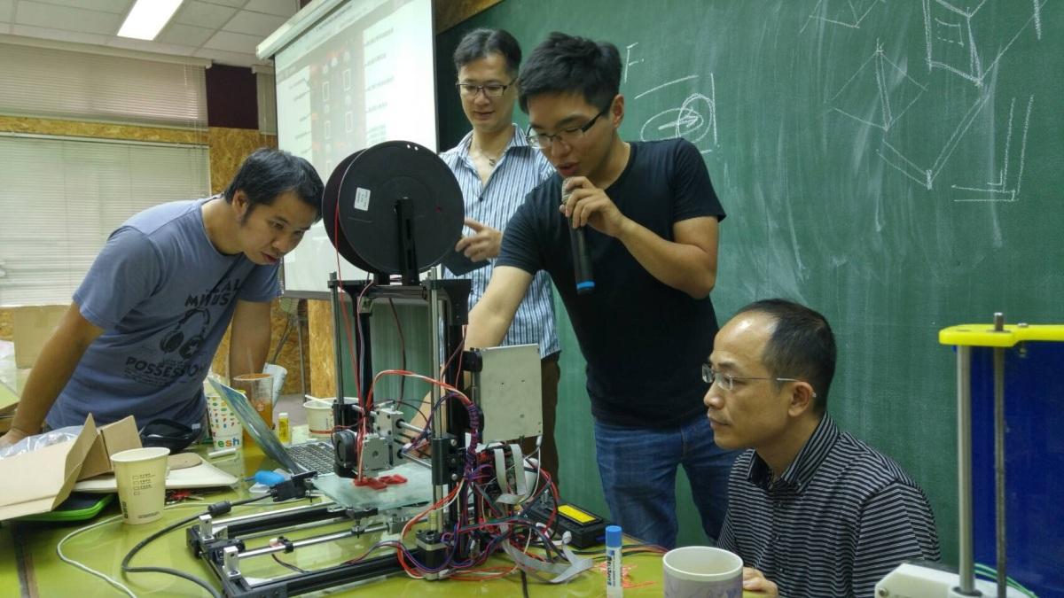 3D印表機組裝